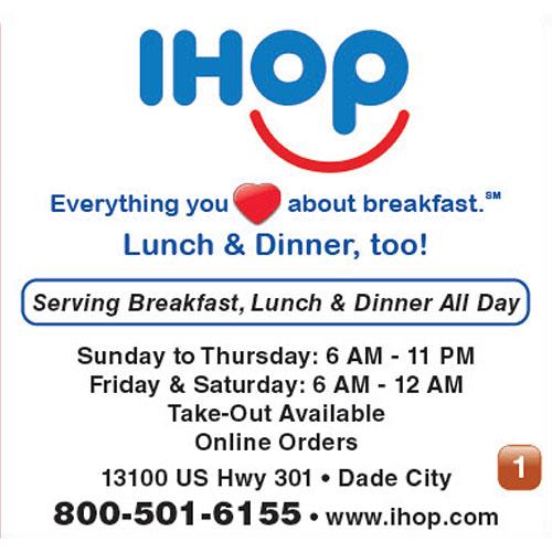 IHOP ad