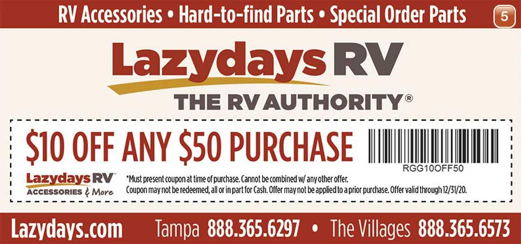 Lazydays RV ad