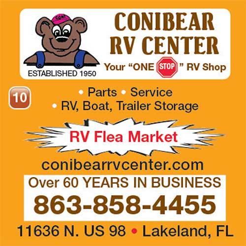 Conibear RV Center ad