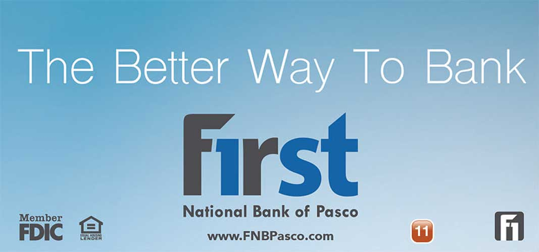 First National Bank of Pasco ad