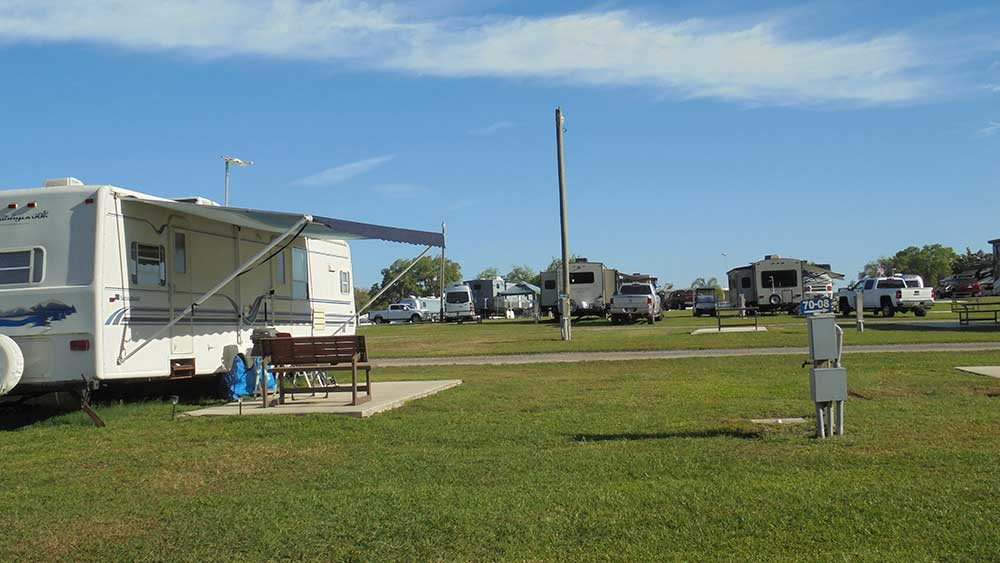 Golfview RV park section